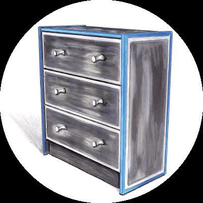 relooking de meubles et d 39 objets d co en bretagne creatypic. Black Bedroom Furniture Sets. Home Design Ideas