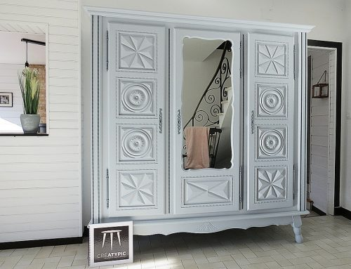 Relooking armoire Basque