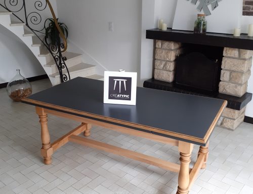 Relooking de la table « LILWENN ».